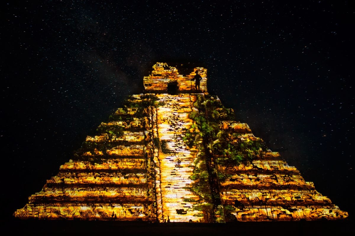 Chichen Itza Light and Sound Show with Cenote Swim-1