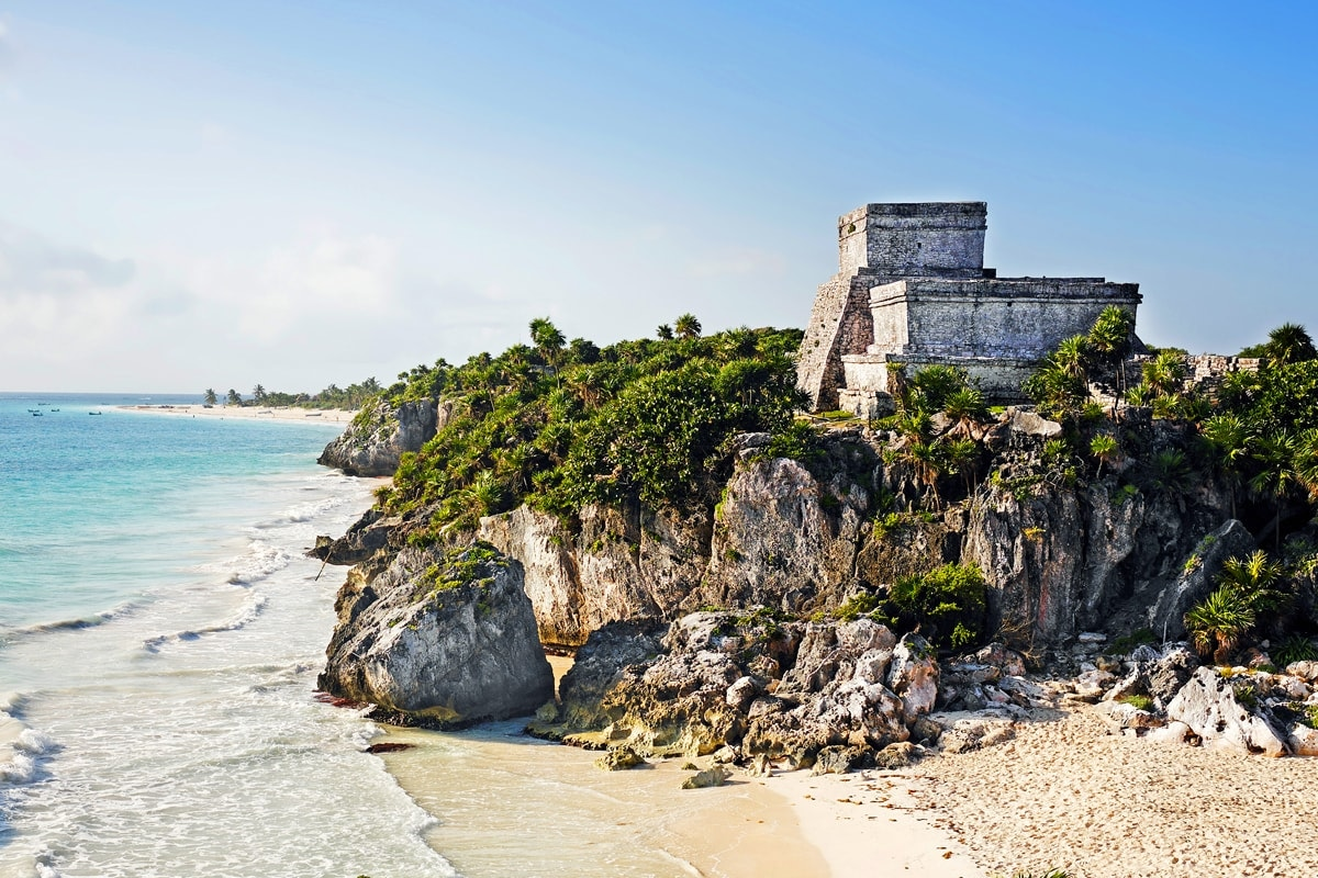 Tulum Ruins Tour & Xel-Ha All Inclusive Eco-Waterpark Excursion-1