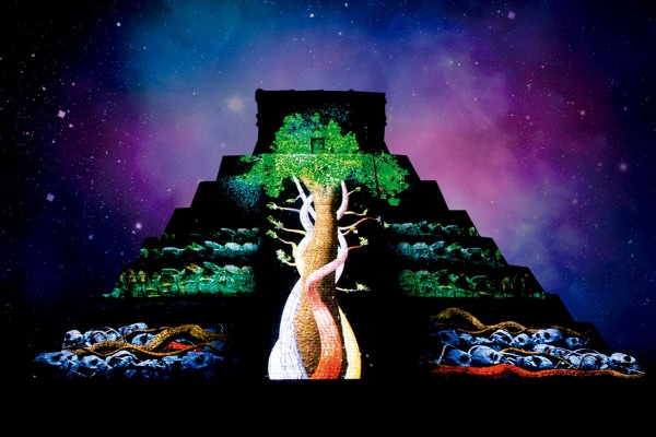 Chichen Itza Light and Sound Show with Cenote Swim