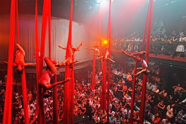 Coco Bongo Nightclub in Playa del Carmen