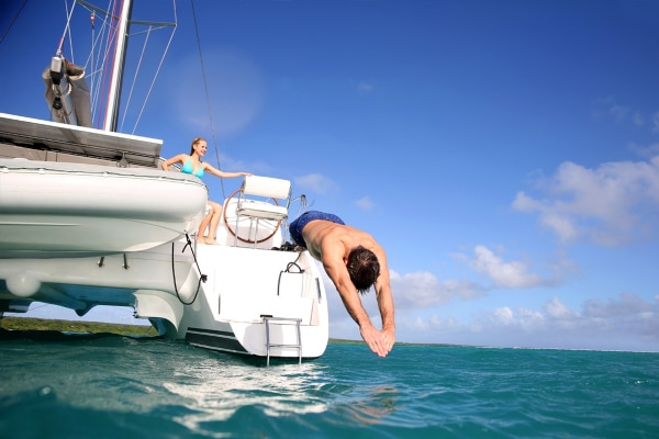 Sail by catamaran to Isla Mujeres - Plus Option