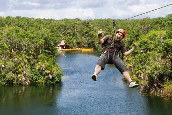 Tulum Mayan Temples & Tankah Eco-Adventure Park Excursion